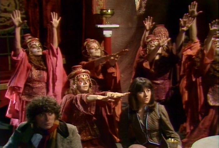 Doctor Who Tom Baker Sisterhood of Karn