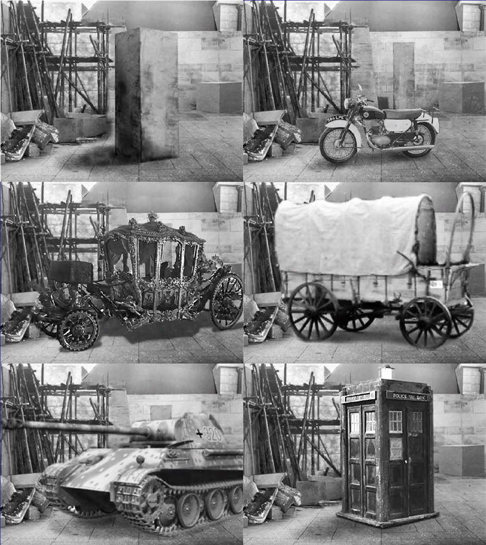 chameleon stages of TARDIS Mark IV