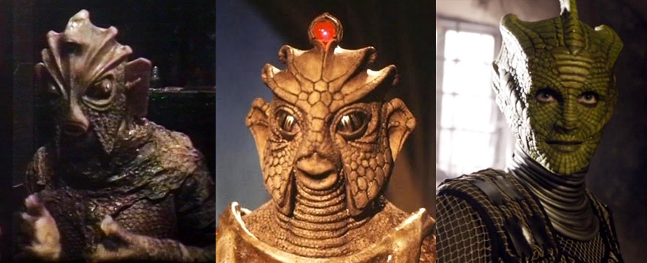 The evolution of Silurians in Classic and New Doctor Who