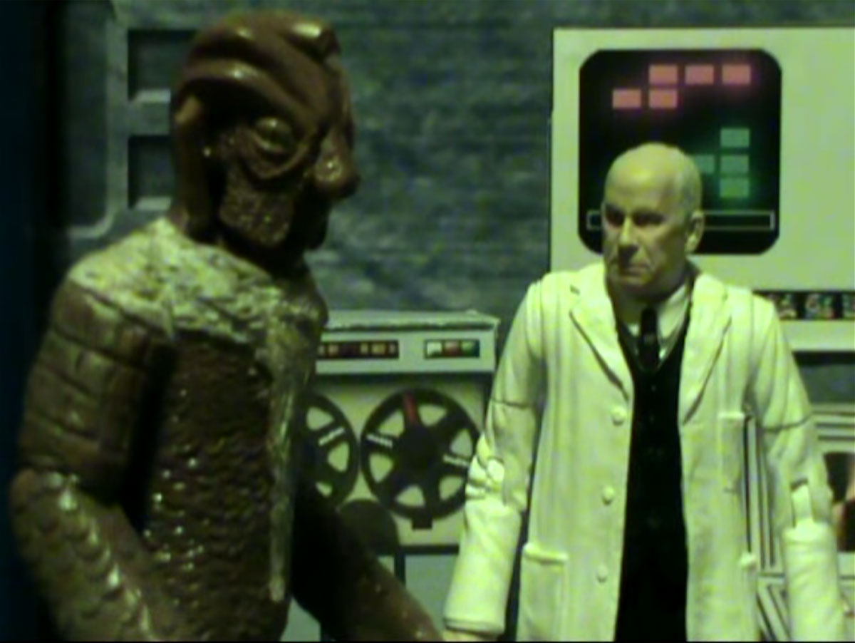 Silurian Doctor Who Action Figure Adventures